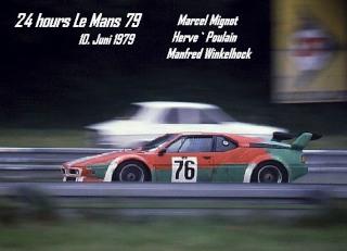 BMW M1 1979 in Le Mans