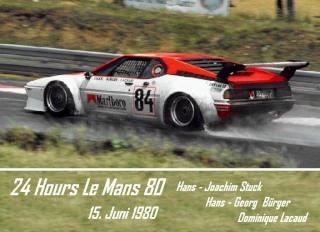 BMW M1 1980 in Le Mans