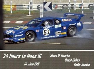 BMW M1 1981 in Le Mans