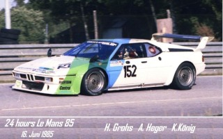 BMW M1 1985 in Le Mans