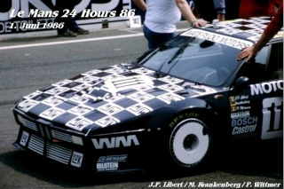 BMW M1 1986 in Le Mans