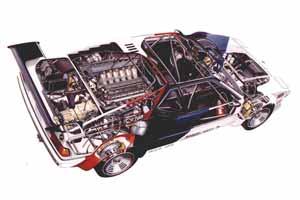 BMW M1 Procar im Röntgenblick