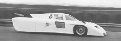Testfahrten in Silverstone Feb. 1981 mit Christina Danner