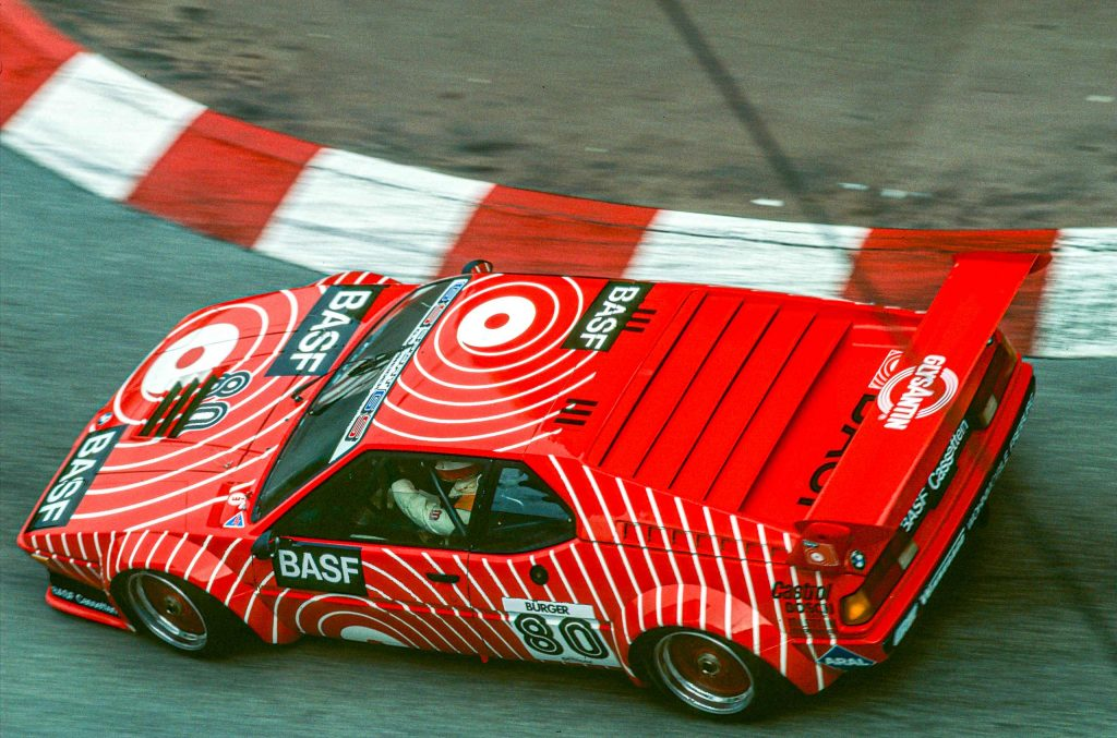 "80 Hans-Georg Bürger, Monaco, ""procar"" - Serie 1980"
