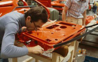 BMW M1 - Produktion, Nacharbeit für Türpassung