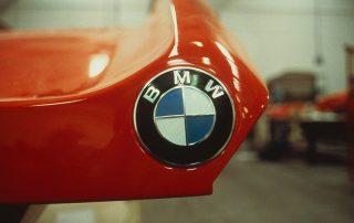 BMW M1 - Produktion, GFK Heckklappe
