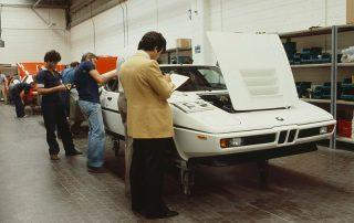 BMW M1 - Produktion, die letzten Handgriffe und Endkontrolle