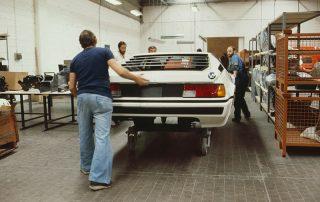 BMW M1 - Produktion, Endmontage und Bereitstellung zur Endkontrolle