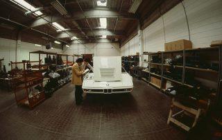BMW M1 - Produktion, Endkontrolle bei ITAL DESIGN