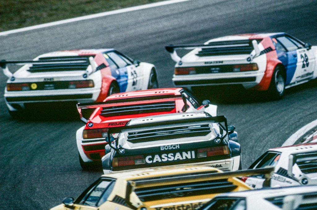 "28 Clay Regazzoni, 27 Alan Jones, 5 Niki Lauda, 77 Hans-Joachim Stuck, Zandvoort, ""procar"" - Serie 1979"