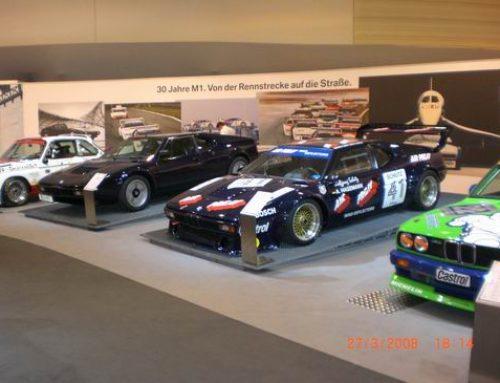 Der BMW M1 auf der Techno Classica 2006 – 2008