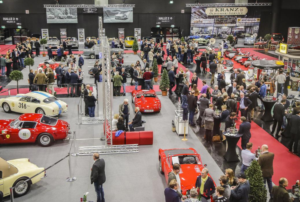 Eröffnungshalle Classic Expo Salzburg 2016
